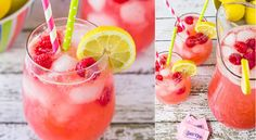 """Day When Getting a """"C"""" is Better than an A & Cherry Lemon-Limeade Eazy Peazy Mealz Fruit Drinks, Non Alcoholic Drinks, Cocktail Drinks, Yummy Drinks, Cocktails, Beverages, Snack Recipes, Cooking Recipes, Vegan Recipes"""