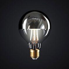 Zrkadlová kolekcia FILAMENT Light Bulb, Led, Mirror, Lighting, Home Decor, Italia, Globe, Bulb Lights, Homemade Home Decor