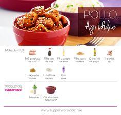 Pollo Agridulce #Tupperware