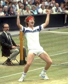 The best tennis player of all time.  IMHO.  I love you, John.