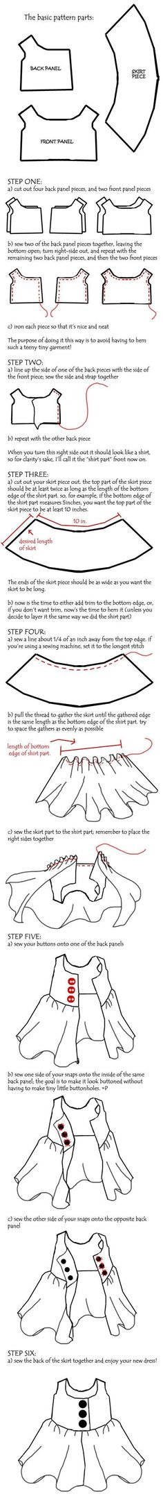 Plushie Dress Tutorial by ~onetruetree on deviantART