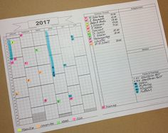 Take Your Bullet Journal to the next level with a Calendex | 24 gorgeous Calendex examples for your bullet journal | Zen of Planning | Planner Peace and Inspiration