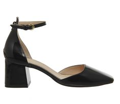 Buy Black Patent Office Quazer Two Part Block Heels from OFFICE.co.uk.
