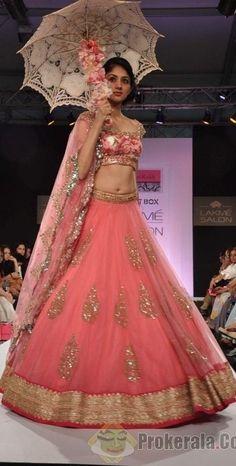 pink #lehenga......