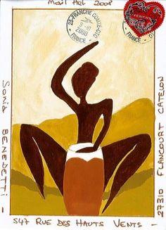 Mail Art - Mail art de Lutin - MA Afrique - J