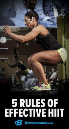 Cardio may be boring  Cardio may be boring, but at least you'll burn far more calories when you follow these 5 rules for making HIIT workouts vastly more effective.  Bodybuilding.com