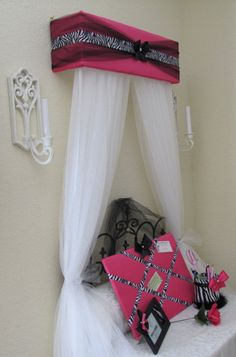 Personalized Bed Crown Canopy Curtains SALE by SoZoeyBoutique Bed Crown Canopy, Canopy Curtains, Curtains For Sale, Canopies, Bedroom Themes, Girls Bedroom, Bedroom Decor, Bedroom Ideas, Bedrooms