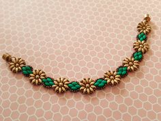 Tutorial Pattern For Beaded Sunflowers Daisy Chain Superduo