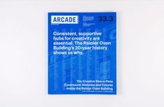 ARCADE 33.3 cover displays the most frequently used words in the issue
