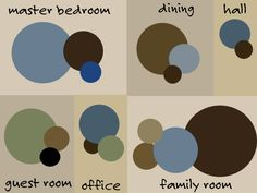 Designer Tips for working with Color schemes -- Remodeling or just repainting this is a bundle of information to help coordinate. Bedroom Color Schemes, Paint Schemes, Accent Colors, Wall Colors, Palette Wall, Color Plan, Favorite Paint Colors, Guest Room Office, Faux Painting