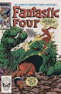 Fantastic Four - Marvel - 264 - Mole Mans Monster - Torch - John Byrne