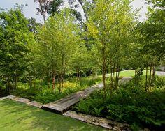Traditional Landscape by Jeffrey Carbo Landscape Architects