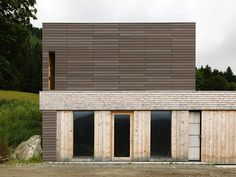 I grew up in Northern California, and I suppose Ilike the look of structures clad in wood because they're comfortable and familiar. Wood works wonderfully in that earthquake-riddled part of …