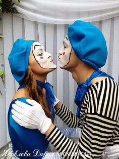 Mime Halloween Costume, Fashion, Moda, Fashion Styles, Fashion Illustrations