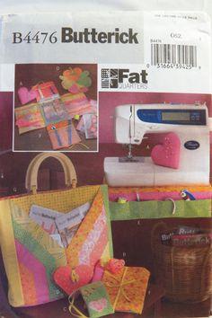 Butterick 4476 Fat Quarters Sewing Accessories