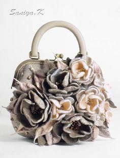 923fe06aaddf Женские сумки ручной работы. Сумочка женская валяная