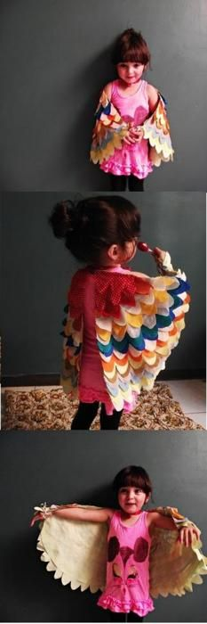 Great idea for an adult owl costume!!!! http://prudentbaby.com/2011/04/baby-kid/how-to-make-beautiful-dress-up-wings-2/  http://www.thespottedlamb.com/1/post/2011/10/diy-dress-upcostume-bird-wings.html