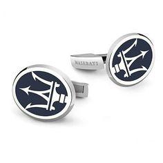 Maserati Car Logo Novelty Cufflinks