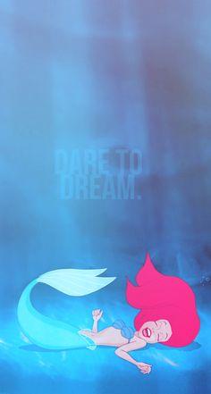 disney MY EDIT myedit the little mermaid ariel Disney Princess Dare To dream dreamer iPhone Wallpaper Ariel Disney, Walt Disney, Disney Dream, Disney Girls, Disney Love, Disney Magic, Disney Art, Mermaid Disney, Disney Princess Ages