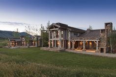 the ultimate ranch house by... Danny Williams.... Jackson Hole. ....WYOMING