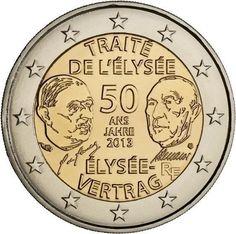 Francia 2 euros conmemorativos (Especial Eliseo) 2013