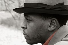 man with hat in profile by jackie weisberg, via Flickr