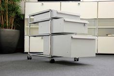 USM Haller Rollcontainer mit 3 Schubladen