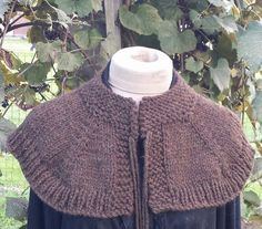 """Or this capelet. 