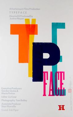 Flyer Goodness: Typeface - a documentary film about old wooden type making and printing