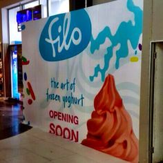 """@filoyoghurt's photo: """"Hello #FILOpavilion ... Are you as happy to see us as we are you? We open THIS FRIDAY!"""""""