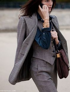 three-piece by {this is glamorous}, via Flickr