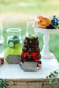 Blueberry Mojitos | Hmmm - interesting... | Photography: Sarah Jayne Photography