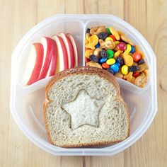 Inside-Out Sandwiches with Apples & Trail Mix