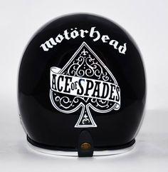 Motorhead helmet