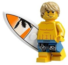 Surfer Dude LEGO® Collectable Figures™ Series 2