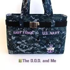 Us navy diaper bag