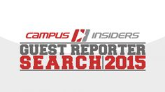 """Campus Insiders Launches """"Guest Reporter Search"""" Campaign Provides opportunity for Students and Alumni to Cover the College Football Playoff in Arizona."""