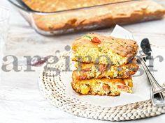Πικάντικη κασερόπιτα με καλαμπόκι και λουκάνικο (Το Πρωινό 20.5.14)