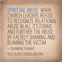 Spiritual Abuse happens in both quiet and overt ways. Both can be extremely damaging to the survivor.