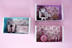 nichos com caixote de feira caixotes de feira decorados caixotes de feira quarto decoração de quarto feminino decor room