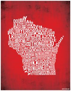 Wisconsin by county; already have Eau Claire, but now I NEED Minnesota and Wisconsin.