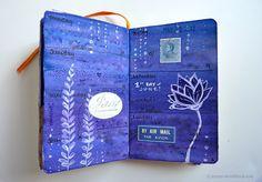 Sketchbook Journal pages, June