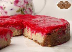 Malinový RAW cheesecake