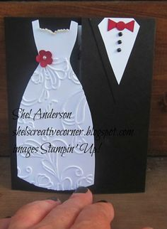 Shel's Creative Corner: For their special day....a beautiful wedding card.....