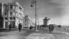 Η Λεωφόρος Νίκης και ο Λευκός Πύργος τη δεκαετία του 1930