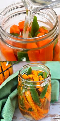 Like Mexican carrots? This spicy carrot refrigerator pickles recipe is easy to make, and will satisfy your hot spicy pickles craving! UPDATE: these were not very spicy and did not taste like I expected. Spicy Pickles, Homemade Pickles, Pickles Recipe, Red Onion Recipes, Carrot Recipes, Yummy Recipes, Refrigerator Pickle Recipes, Spicy Carrots, How To Pickle Carrots