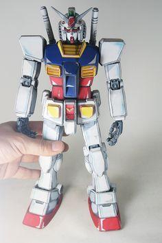 GUNDAM GUY: PG 1/60 RX-78-2 Gundam 'Anime Colors Custom' - Customized Build