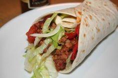 """Burritos """"con Carne"""" mit Fleisch"""