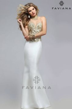 167f58b1cc Gorgeous jeweled sweetheart neckline with lace applique on soft satin mermaid  gown. The back brings. Prom ...