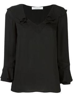 PHILOSOPHY DI LORENZO SERAFINI 荷叶细节罩衫. #philosophydilorenzoserafini #cloth #blouse